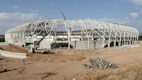 Kayısı temalı stadyumda sona yaklaşıldı