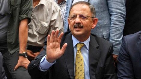 Mehmet Özhaseki, Yüksekova'da incelemelerde bulundu