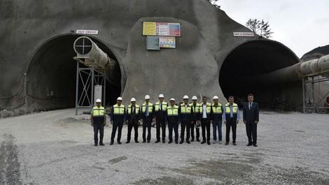 Yeni Zigana Tüneli inşaatı devam ediyor