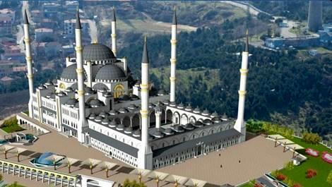 Emlak Konut'tan Çamlıca Camii'ne 8 milyon liralık bağış!