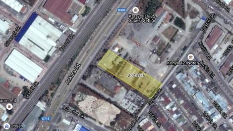 Konya'da satılık ticaret alanı!