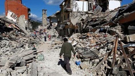 İtalya'da bir kasaba yok oldu!