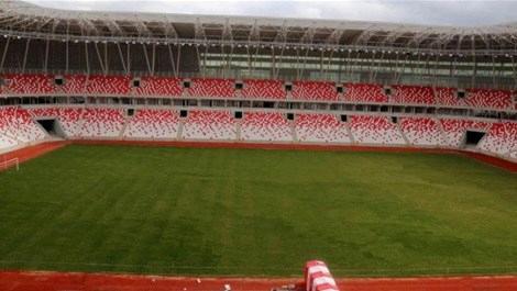 Sivasspor yeni stadında ilk sınavına çıkacak