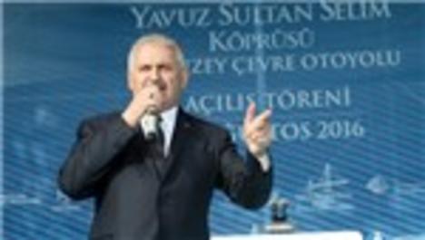 Binali Yıldırım: İstanbul'a yeni bir gerdanlık taktık