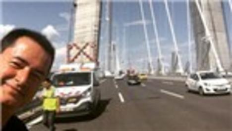 Acun Ilıcalı, 3. Köprü'de özçekim modasına uydu!