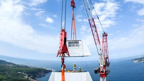 3. Köprü'de rüzgara dayanıklı beton kullanıldı!