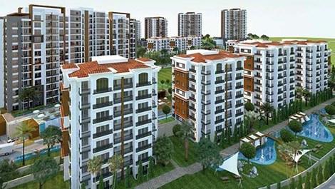 Vadişehir'de 2+1 daireler 644 bin lira!