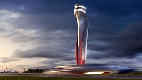 İstanbul Yeni Havalimanı'nın hava trafik kontrol kulesine ödül!