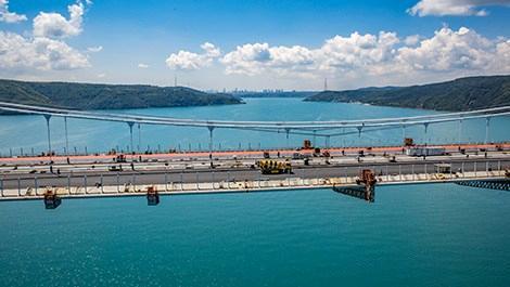 Yavuz Sultan Selim Köprüsü, Akçansa ile yükseldi
