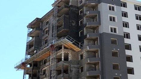 Bingöl'de inşaat iskelesi çöktü: 5 yaralı!