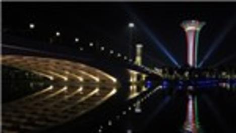 Antalya Turkcell EXPO Kulesi, İtalya bayrağına büründü!