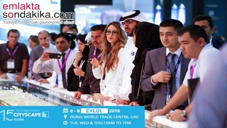 Dubai Cityscape 2016 etkinlik takvimi yayında!