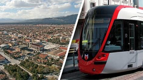 Erzincan'da tramvay için etüt çalışmaları başladı