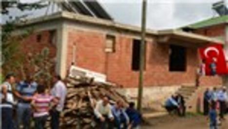 Ordulu şehidin yarım kalan evi tamamlanacak
