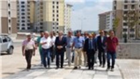 Mehmet Ergün Turan, Kuzey Ankara projesini inceledi