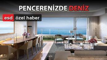 İstanbul'un deniz manzaralı en yeni 12 konut projesi!