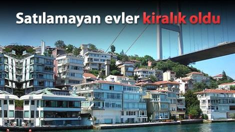 İstanbul'da kiralık daire sayısı arttı, fiyatlar düştü!