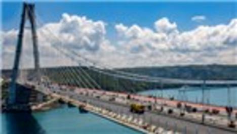 Yavuz Sultan Selim Köprüsü'nün betonuna ödül!