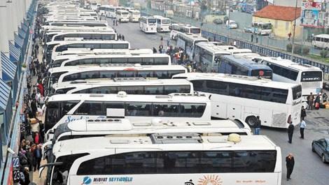 Bayramda korsan otobüslere dikkat!