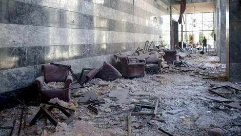Meclis'te bombanın düştüğü nokta 'anıt müze' olacak