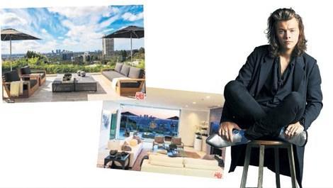 Harry Styles, Hollywood'da malikane satın aldı