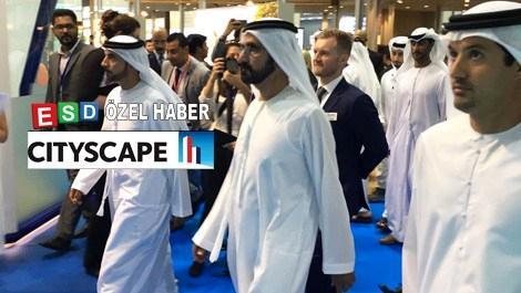 Şeyh El Maktum, Cityscape 2016'yı ziyaret etti