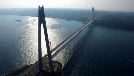 3. köprünün istinat duvarı Tekno Maccaferri'den!