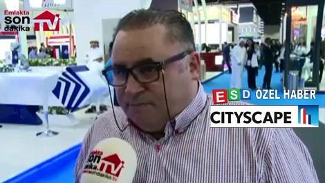 Metin Uçar, Cityscape'te yeni projelerini anlattı!