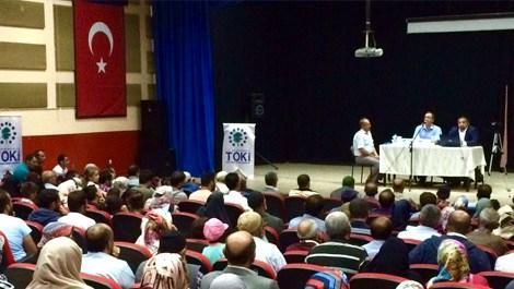 Erzurum Aşkale'de 138 konutun hak sahipleri belirlendi