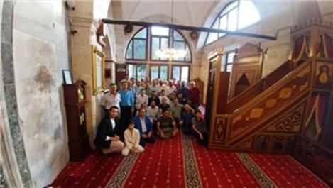 Ayasofya Müzesi Hünkar Kasrı'nda bayram namazı kılındı!