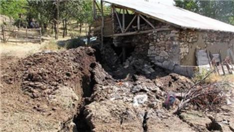 Erzincan'daki heyelanda 24 ev kullanılamaz hale geldi