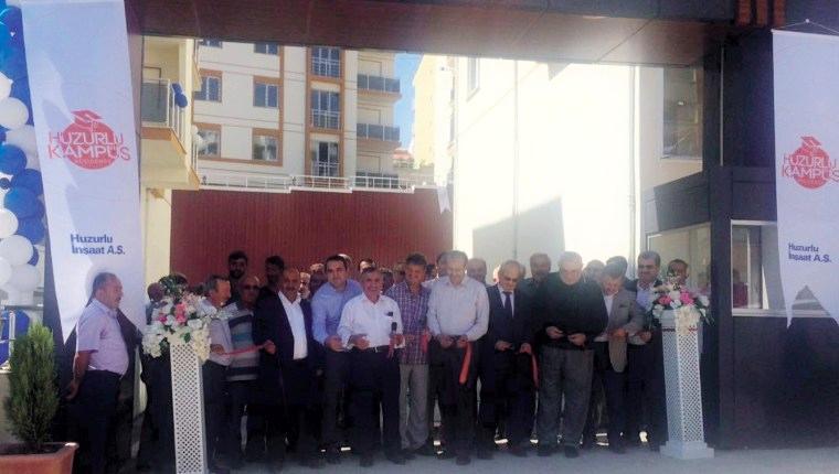 Huzurlu Kampüs Karabük'te anahtarlar teslim edildi!