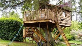 Çocuklarınız için adım adım ağaç ev yapımı!