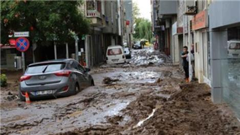 Beşikdüzü'nde sular çekildi felaket ortaya çıktı!