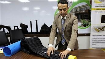 Türk girişimci tıkanmayan drenaj borusu geliştirdi