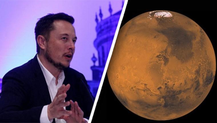 Musk, Mars'ta yerleşim alanı kurmak istiyor
