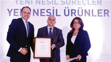 Tepe İnşaat'a sektörün öncü markası ödülü!