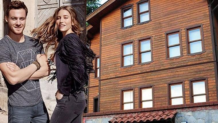 Serenay Sarıkaya, 9 odalı evi küçük buldu!