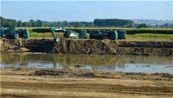Karaağaç Tahliye Kanalı Projesi'nin yüzde 60'ı tamamlandı!