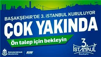3. İstanbul projesi 15 Kasım'da görücüye çıkacak