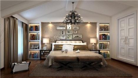 Rahat bir uyku için; yatak odası dekorasyonu