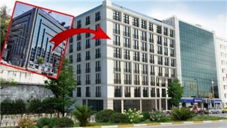 Taca İnşaat, Karaköy'deki Halkbank binasını otel yapacak