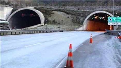 Bolu Dağı Tüneli'nin İstanbul yönü 2 hafta kapanacak