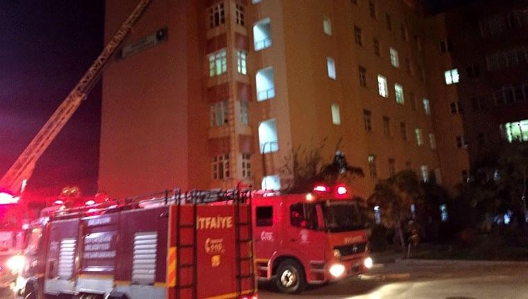 Bandırma Devlet Hastanesi yangın