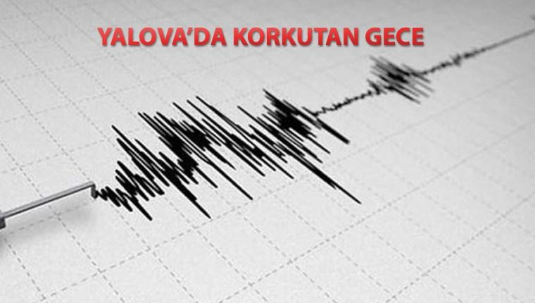 Yalova'da bir gecede 28 deprem meydana geldi!