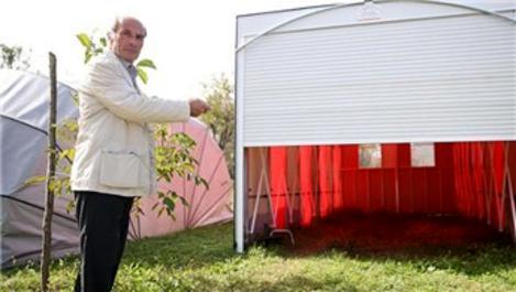 Portatif garajları, Türkiye'nin dört bir yanına satıyor