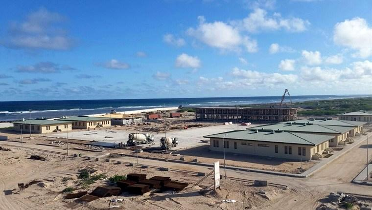 Somali'de inşa edilen Türk askeri eğitim tesisi