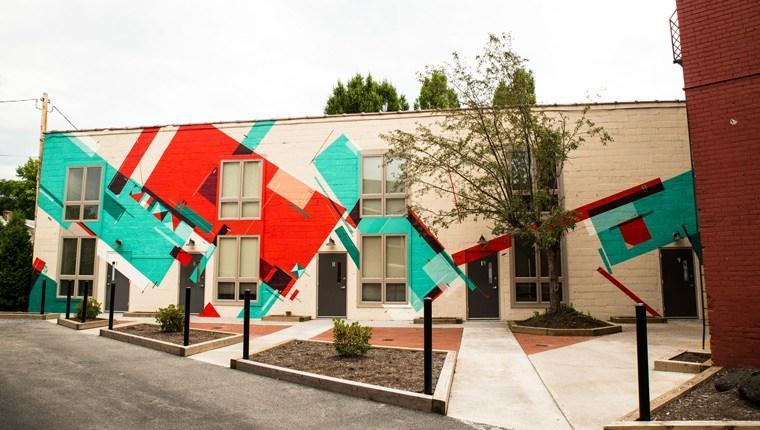 Modern sokak sanatı: Duvar süsleme