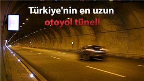 Gebze-Orhangazi-İzmir Otoyolu için dağı deldiler!