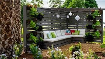 Küçük bahçeler için dekorasyon önerileri